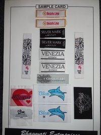 Fancy Woven Labels
