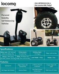 Locomo Self Balancing Vehicle