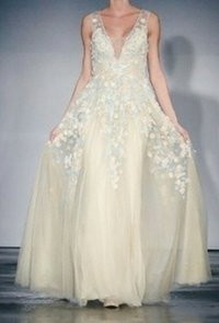 Embroidered Bridal Gowns