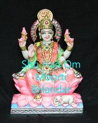 Marble Goddess Laxmi Mata Statue