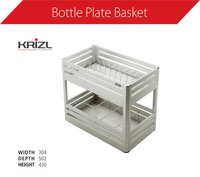 Aluminium Bottle Plate Basket