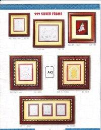 999 Silver Frames