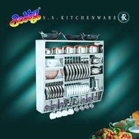 Ss Kitchen Utensil Rack