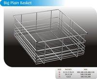 Stainless Steel Big Plain Basket