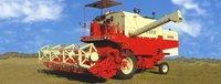 Wheel Type Combine Harvester