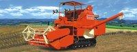 Track Type Combine Harvester