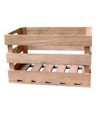 Cross Plank Pine Wood Crates