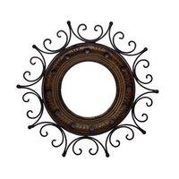 Iron Circular Mirror Holder