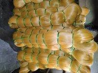 Yellow Monofilament Yarn