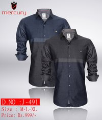 Mens Party Wear Casual Shirt J-491