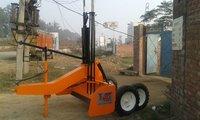 Orange Laser Land Leveler