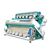 High Frequency Ejector Color Sorter Machine With LED Light