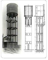 Overhead Water Storage Tanks