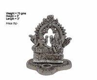 White Metal Laxmi Ganesha
