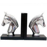 Horse Aluminum Bookends