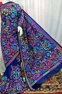Silk Kantha Saree