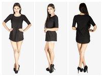 Ladies Long Sleeve Short Dress