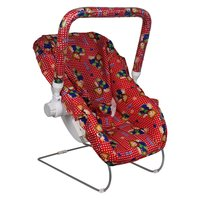 Red Baby Carry Cot