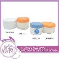 Cosmetic Sectors Plastic Empty Cream Packaging Jar