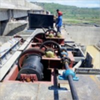 Dam Gate Erection Work