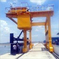 Dam Gate Installation Work