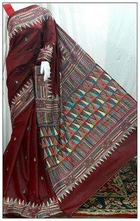 Fancy Kantha Saree