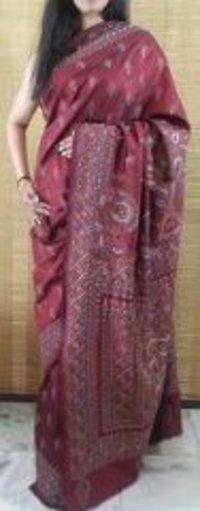 Pure Silk Kantha Saree