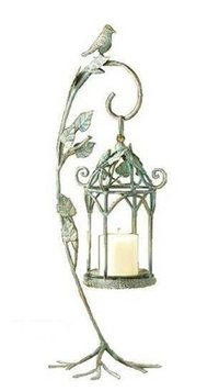 Hanging Bird Cage Lamp