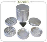 5 Part Aluminum Cnc Herb Grinder