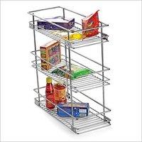 Three Shelf Pullout Kitchen Basket