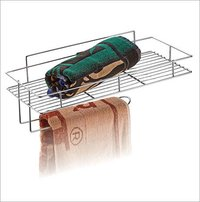Stainless Steel Wire Towel Rack Basket