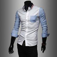 Designer Blue And White Shirts