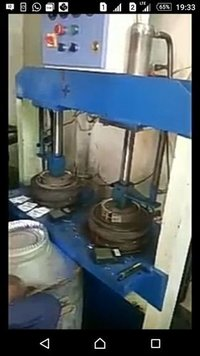 Hydraulic Single Die Panel System Paper Plate Machine