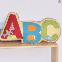 ABC Car Shaped Cushion