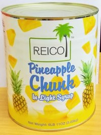 Reico Pineapple Chunk Light Syrup