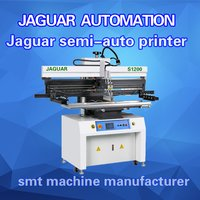 Smt Semi Automatic Screen Printer For Led