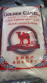 Golden Camel Jasmine Broken Rice