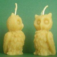 Owl Shape Candle