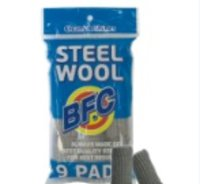 9Pcs Steel Wool Rolls For Wood Craft Polishing