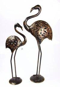 Metal Duck Sculpture