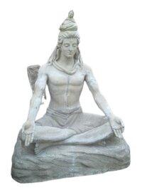 Fiberglass God Shiva Statue