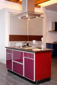 Modular Kitchen With Chimney