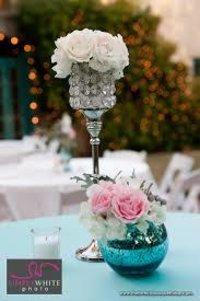 Heighted Glass Bead Flower Vase Set For Center Table