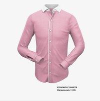 Mens Pink Designer Shirt