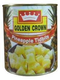 Canned Pineapple Tid Bit