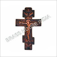 Brass Crucifix Cross