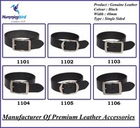 Genuine Leather Belt With Buckles (P1)