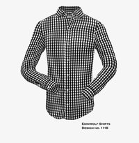 Edinwolf Check Shirt For Men