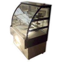 Curved Glass Display Counter