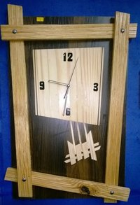 Wooden Wall Clock (WWC-1)